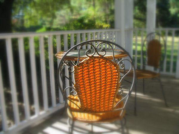 veranda bois